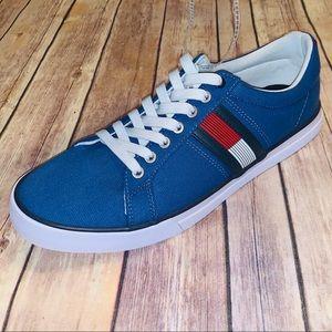 Tommy Hillfiger Revel Mens Blue sneakers Sz 10.5